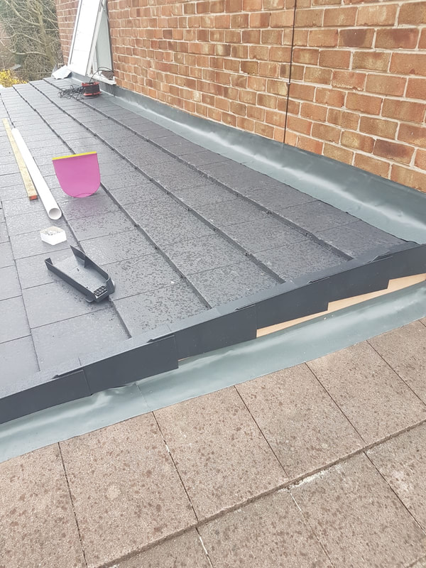 roof and gutter repairs Liverpool